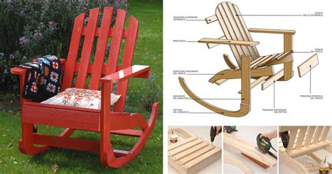 come costruire una a dondolo costruire una sedia a dondolo in legno bricoportale fai
