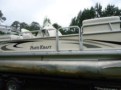 parti kraft pontoon boat covers parti kraft boats for sale