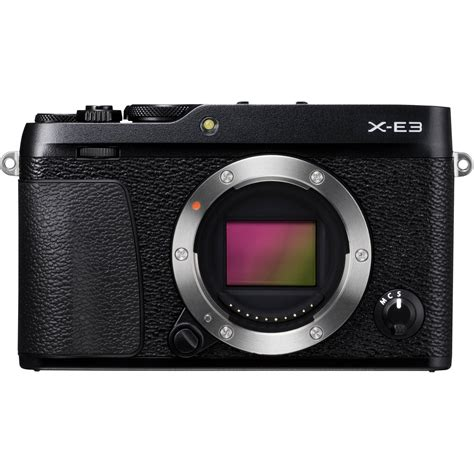 Fujifilm X E3 Black Kamera Mirrorless Kamera Fuji Limited fujifilm x e3 mirrorless digital 16558530 b h photo
