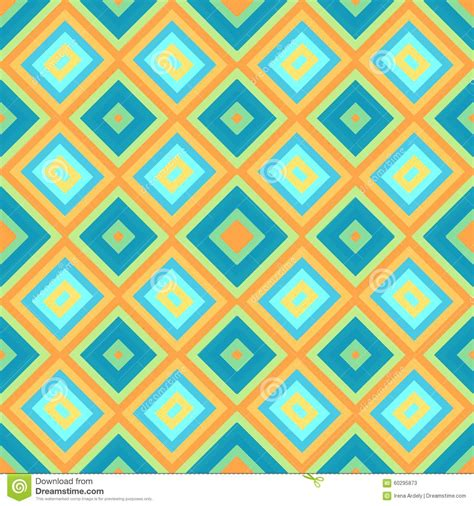 rhombus pattern texture blue orange rhombus geometrical seamless pattern texture