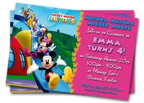 minnie mouse birthday invitations printable custom kids