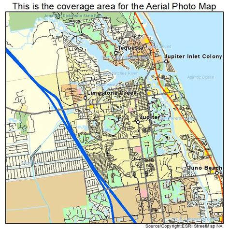 jupiter florida map aerial photography map of jupiter fl florida