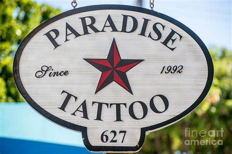 paradise tattoo key west paradise key west photograph by ian monk
