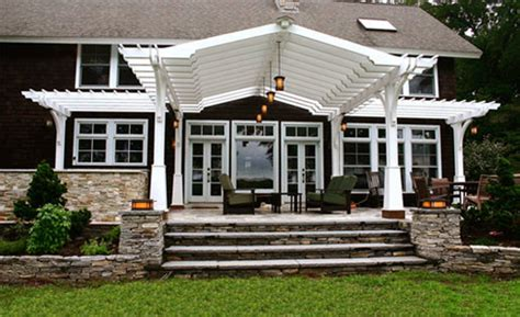 pergola front porch shade pergolas traditional porch boston by trellis structures inc