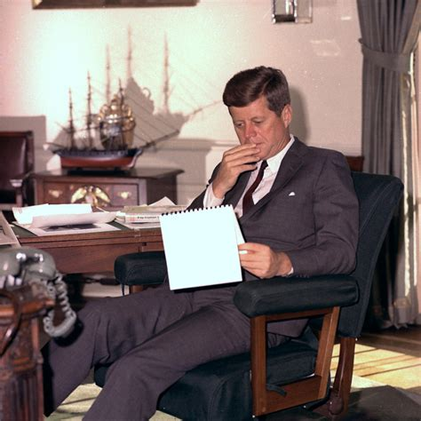 kennedy oval office john f kennedy muses it men the red list