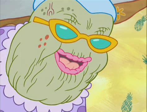 spongebuddy mania spongebob characters gramma