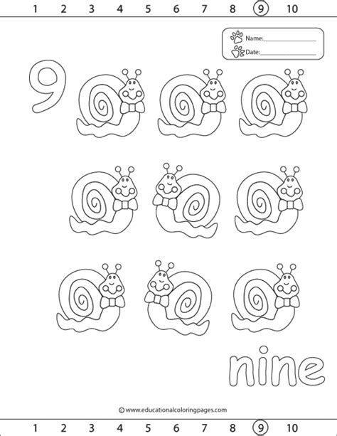 123 Coloring Pages Educational Fun Kids Coloring Pages Coloring Pages For 9 And Up