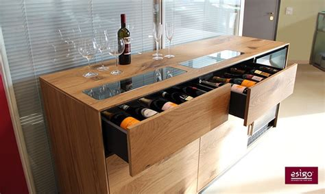 Refrigerated Wine Credenza Gallery Esigo Wine Trolleys