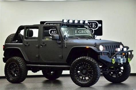 Jeep Wrangler Unlimited Rubicon Lift Kit Sell New 2013 Jeep Wrangler Unlimited Kevlar Ed 4x4