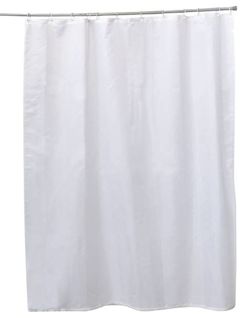solid white shower curtain shower curtain polyester solid white 71wx79l 12 color