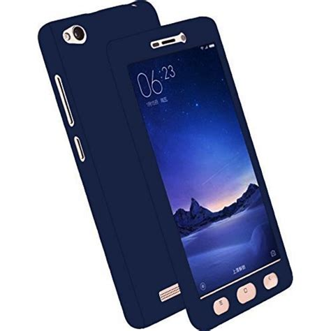 xiaomi redmi 4 front back cover screen tempered glass blue from category cases covers