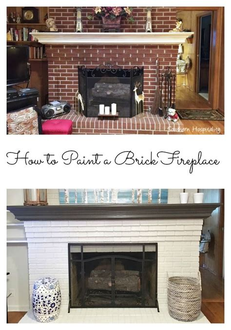 how to paint a brick fireplace how to paint collage and