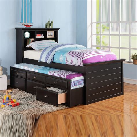 Daybed With Trundle And Storage Bed Design Design Cheap Trundle Bed In Daybeds With Storage Mattresses Included