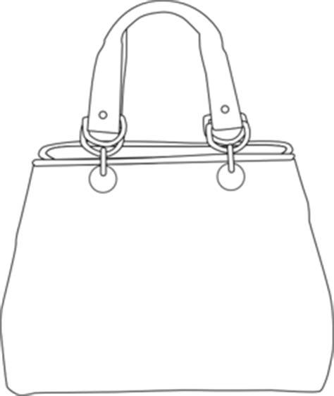 Tas Lancaster Icon Tote Large Bag Black Origi Limited handbag outline clipart clipart suggest