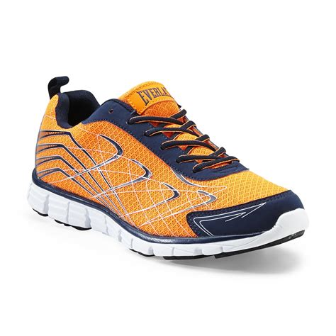 everlast athletic shoes everlast 174 s boomer running athletic shoe orange navy