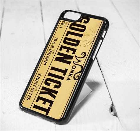 Casing Iphone 5 5s Willy Wonka Golden Ticket Custom willy wonka golden ticket iphone 6 iphone 5s iphone 5c samsung s6 and