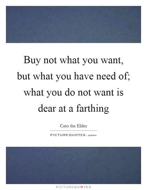 Not What You Expect by Buy Not What You Want But What You Need Of What You