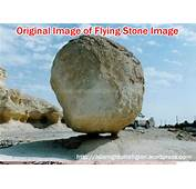 Flying/Floating Stone In Jerusalem  Fake Image/ Hoax