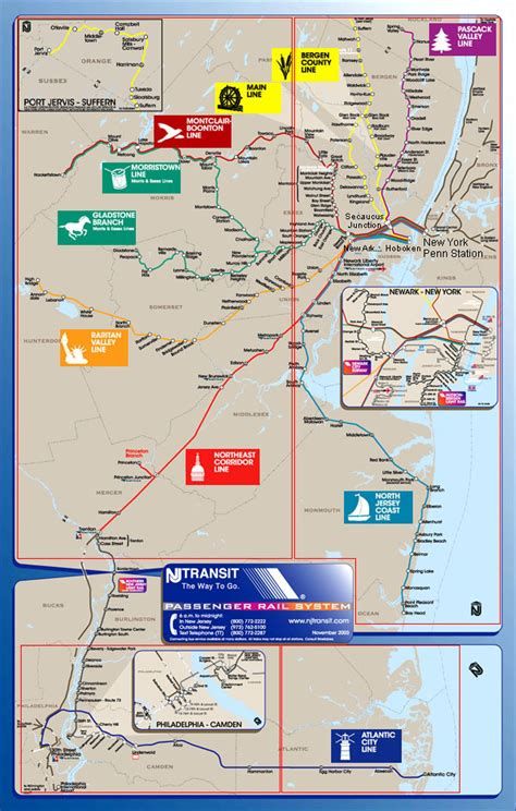 njt map 26 simple new jersey transit map bnhspine