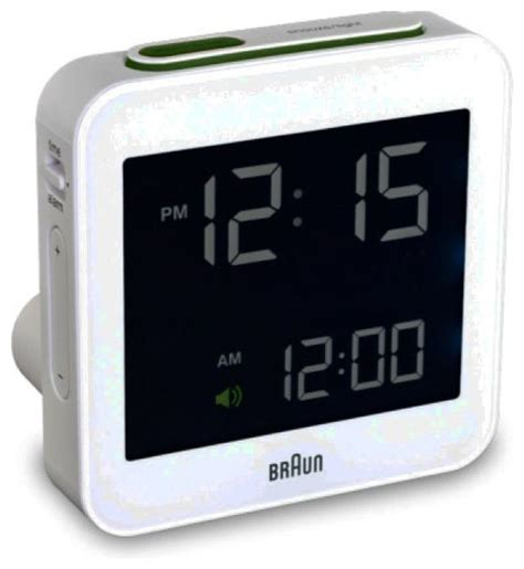 braun braun bnc009 digital alarm clock contemporary alarm clocks by switch modern