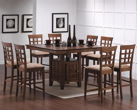 Dining Table Chair Height Counter Height Casual Dining Counter Height Dining Table And Chair Set Co 101438