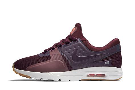 Nke Airmax nike air max zero burgundy gum sneaker bar detroit