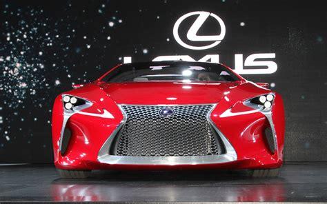 lexus lf lc white lexus lf lc concept 2012 detroit auto show motor trend