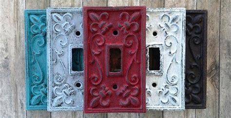 shabby chic light switch plates jane