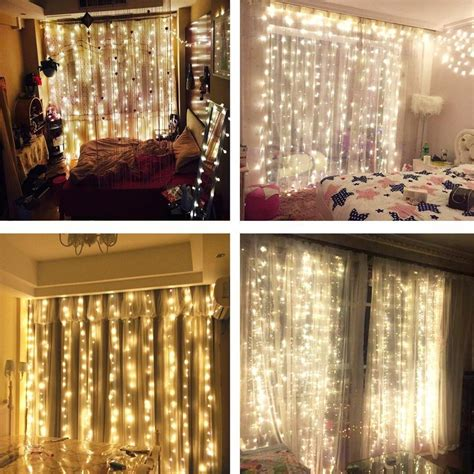 curtain lights for bedroom stunning indoor curtain lights ideas interior design