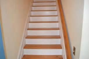 Hardwood Floor Stairs Refinishing Hardwood Stairs Monk S Home Improvements