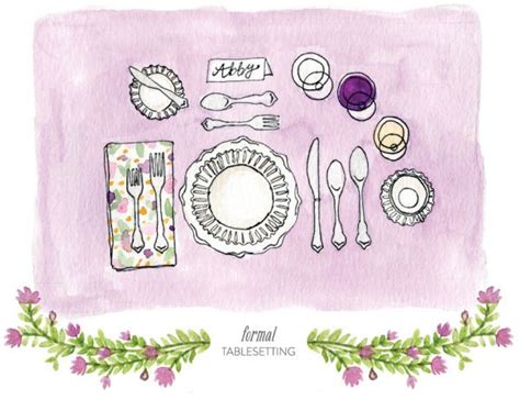 how to properly set a table 9 best images about table setting for dummies on pinterest