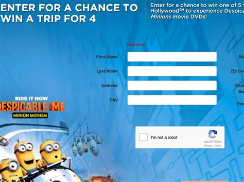Universal Studios Sweepstakes - sun maid s vacation to universal studios hollywood sweepstakes sweepstakes fanatics