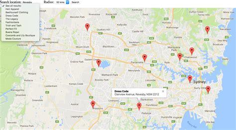 creating  store locator  google maps store locator