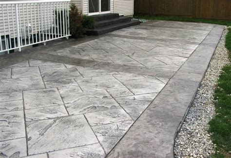 Solid rock stamped concrete patterns best stamped concrete patios ideas walsall home and