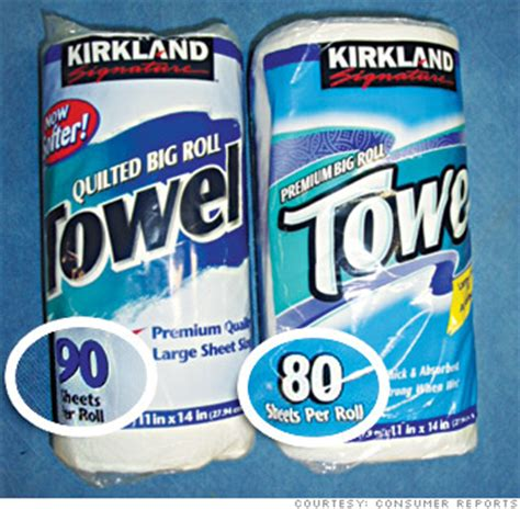 Who Makes Kirkland Paper Towels - your favorite products now 20 smaller kirkland