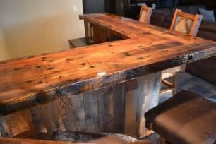 Hardwood Bar Top Slabs Handcrafted Custom Built Wood Furniture Enterprise Wood