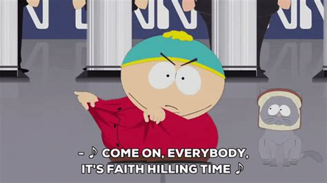 Faith Hilling Meme - eric cartman dancing gif by south park find share on giphy