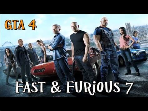 fast and furious parody fast and furious 7 movie parody gta 4 youtube