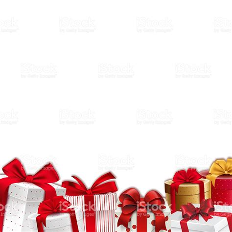 border decorations decoration border frame gift boxes with