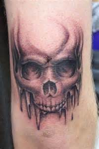 elbow skull tattoo venice tattoo art designs
