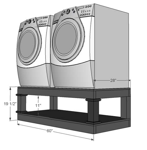 How To Make A Pedestal Steps On Your Own Washer Dryer Pedestal Decozilla