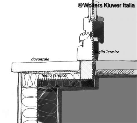 taglio termico davanzale ponti termici negli infissi cassonetti e davanzali