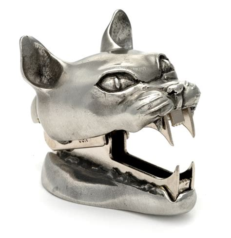 cat staple remover office desk accessories