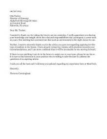 Business Letter Sample Meeting Thank You sample thank you for meeting