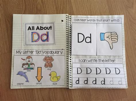 Letter Notebook How To Teach The Alphabet Simply Kinder