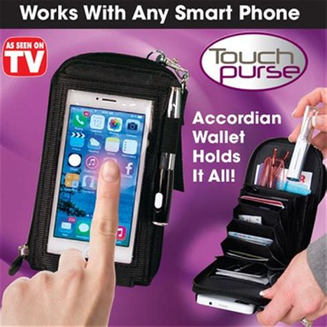 Multifunction Touch Purse Phone Package Sarung Smartphone touch purse mobile phone bag multi functional wallet waist bag xp176 cyll in phone bags