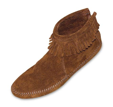 Both Shoes both of the s moccasins or s moccasin fringe