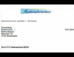 Bewerbung Brief Beschriften Gesch 228 Ftsbrief In Din 5008 Schreiben Eine Anleitung