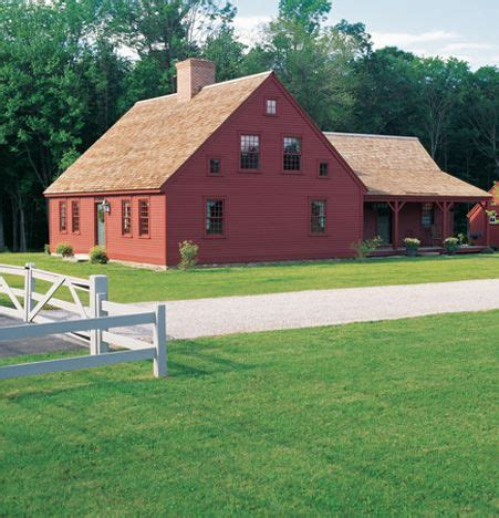 colonial house with farmers porch exterior of cape house with center chimney ell addition