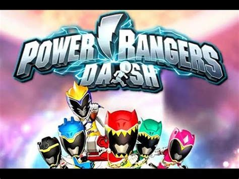 download mod game power ranger dash gameplay power rangers dash v1 3 8 apk mod unlimited